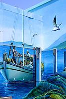 Mural at Sydney Fish Markets