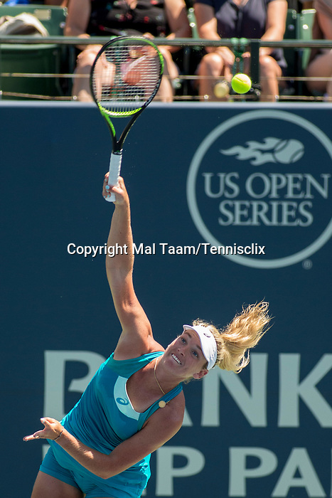 August 06, 2017: CoCo Vandeweghe (USA) was defeated by Madison Keys (USA) 7-6 (7-4), 6-4 at the Bank of the West Classic being played at the Taube Tennis Stadium in Stanford, California. ©Mal Taam/TennisClix/CSM