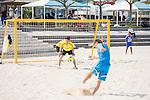 (L-R) Tetsuji Sugita, Keisuke Matsuda (JPN),<br /> APRIL 20, 2014 - Beach Soccer :<br /> Beach Soccer Japan national team candidates training camp in Okinawa, Japan. (Photo by Wataru Kohayakawa/AFLO)