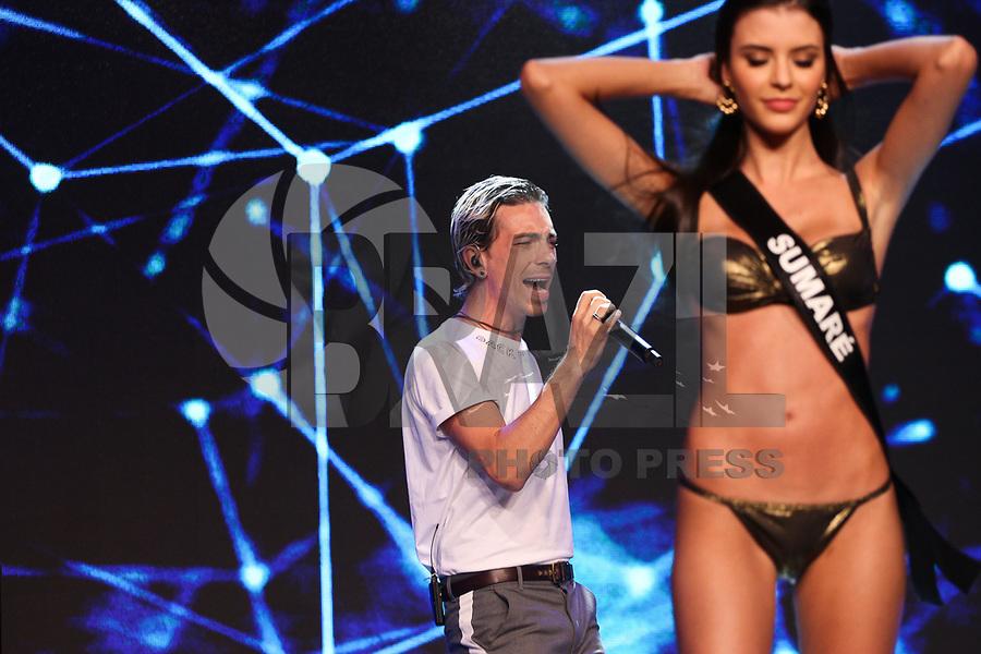 SAO PAULO, SP, 31.03.2018- MISS-SÃO PAULO - Di Ferrero durante o Miss São Paulo 2018 realizado na Casa Petra na região sul da cidade de São Paulo na noite desta sábado, 31. <br /> (Foto: Fabricio Bomjardim/Brazil Photo Press)