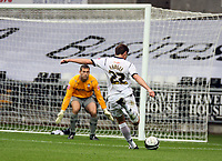 Pictured: Angel Rangel of Swansea City in action <br /> Re: Coca Cola Championship, Swansea City Football Club v Southampton at the Liberty Stadium, Swansea, south Wales 25 October 2008.<br /> Picture by Dimitrios Legakis Photography, Swansea, 07815441513