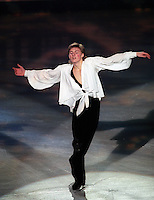 Ilia Kulik (Russia) performs an exhibition routine at the 1997 Lausanne World Championships. Photo copyright  Eileen Langsley
