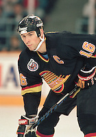 Trevor Linden Vancouver Canucks. Photo F. Scott Grant