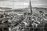Bureau à Genève. Genève mars 2021. ©Nicolas Righetti/Lundi13