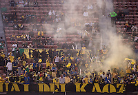 Club America fans. Real Madrid defeated Club America 3-2 at Candlestick Park in San Francisco, California on August 4th, 2010.