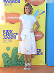 Sarah Hyland<br /> <br /> <br /> <br /> <br /> <br /> <br />  attends 2015 Nickelodeon Kids' Choice Awards  held at The Forum in Inglewood, California on March 28,2015                                                                               © 2015 Hollywood Press Agency