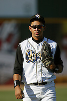 September 1 2008: Anderson Rosario of the Rancho Cucamonga Quakes during game against the Inland Empire 66'ers at The Epicenter in Rancho Cucamonga,CA.  Photo by Larry Goren/Four Seam Images