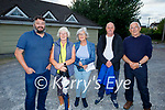 Residents and business's at the meeting to discus the concerns with the published plans by Kerry County Council for the instillation of a new pedestrian crossing and 4 bus parking spaces at Upper Main Street, Castleisland on Thursday. L to r: Gareth Lawless ( Kerry Flyer Bus Company), Kathleen O'Connor (O'Connor Coaches), Katrina McElligott (Resident), Robert Tandall (Main Street) and Pat Mitchel (Kerry Flyer Bus Company).