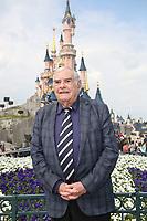 JULIEN LAUPRETRE, PRESIDENT DU SECOURS POPULAIRE - LE SECOURS POPULAIRE A DISNEYLAND PARIS, FRANCE, LE 04/04/2017.