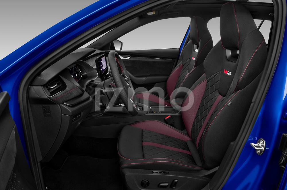 Front seat view of 2020 Skoda Octavia-Combi RS 5 Door Wagon Front Seat  car photos