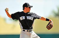 8 March 2011: New York Yankees' infielder Bradley Suttle in action during a Spring Training game against the Atlanta Braves at Champion Park in Orlando, Florida. The Yankees edged out the Braves 5-4 in Grapefruit League action. Mandatory Credit: Ed Wolfstein Photo