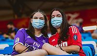31st August 2021; Estadio Afredo Di Stefano, Madrid, Spain; Women's Champions League, Real Madrid CF versus Manchester City Football Club; Real Madrid fans