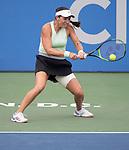 August 3,2019:  Jessica Pegula (USA) defeated Anna Kalinskaya (RUS) 6-3, 3-6, 6-1, at the CitiOpen being played at Rock Creek Park Tennis Center in Washington, DC, .  ©Leslie Billman/Tennisclix