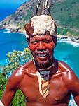 Suedafrika, Mbondo Stammesangehoeriger   South Africa, Mbondo tribesman
