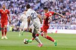 "Real Madrid's Danilo Luiz Da Silva and Sevilla FC Victor ""Vitolo"" Machin during La Liga match between Real Madrid and Sevilla FC at Santiago Bernabeu Stadium in Madrid, May 14, 2017. Spain.<br /> (ALTERPHOTOS/BorjaB.Hojas)"