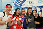 Guest attends the HSBC VIP's Box  during the Cathay Pacific / HSBC Hong Kong Sevens at the Hong Kong Stadium on 27 March 2015 in Hong Kong, China. Photo by Leena Chatlani  / Power Sport Images