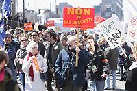 Marche pour le Jour de la Terre, le 21 avril 2013.<br /> <br /> Photo : Agence Quebec Presse