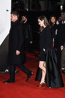 "Brad Pitt and Marion Cottilard<br /> at the ""Allied"" UK premiere, Odeon Leicester Square, London.<br /> <br /> <br /> ©Ash Knotek  D3202  21/11/2016"