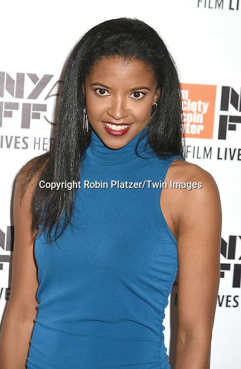 """Renee Elise Goldsberry of """"Hamilton's America"""" attends the """"Manchester by the Sea"""" Screening at the New York Film Festival on October 1, 2016 at Alice Tylly Hall in Lincoln Center in New York, New York, USA.<br /> <br /> photo by Robin Platzer/Twin Images<br />  <br /> phone number 212-935-0770"""