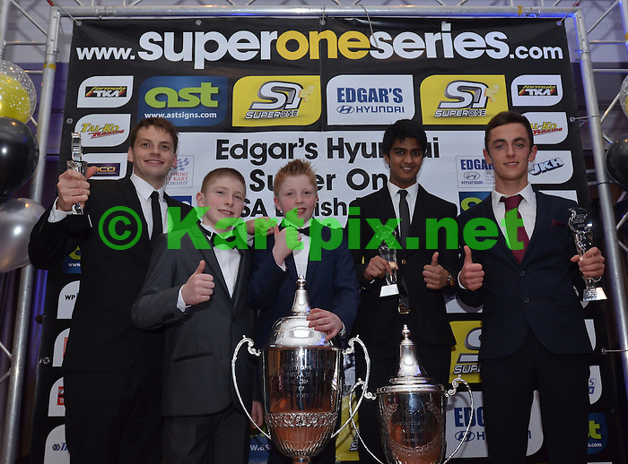 Super one gala dinner and prize giving at the minster suite Hilton Coventry Hotel