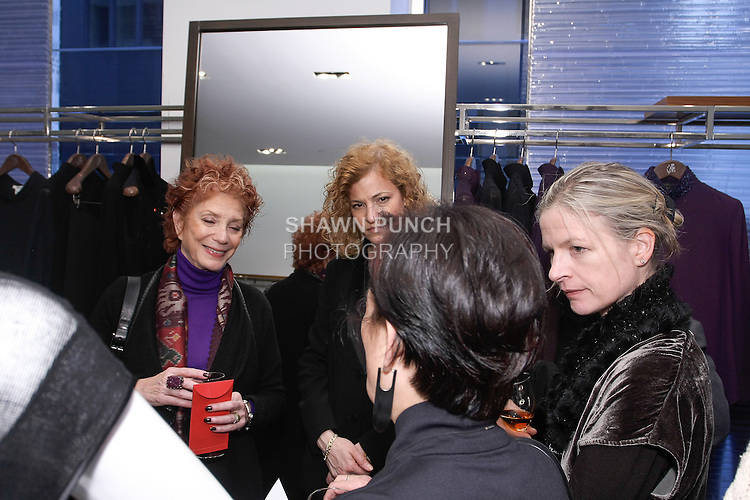 Cocktail reception after the Blanc de Chine Fall Winter 2013 Dunhuang collection fashion show, at 673 Fifth Avenue NYC, during New York Fashion Week Fall 2013 on February 10, 2013.