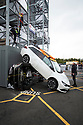 27/10/19<br /> <br /> Teams of UK fire fighters, compete to rescue and extracte 'patients' from 48 Toyotas, donated by the nearby factory at the 'UKRO Challenge Derbyshire 2019', held at Derbyshire Fire and Rescue, HQ, Ripley, Derbyshire.<br /> <br /> <br /> All Rights Reserved, F Stop Press Ltd +44 (0)7765 242650 www.fstoppress.com rod@fstoppress.com