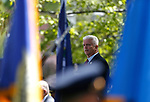 Richard Fletcher, retired Captain with the Las Vegas Metropolitan Police Department, speaks at the 22nd annual Nevada Law Enforcement Officers Memorial ceremony in Carson City, Nev., on Thursday, May 2, 2019. <br /> Photo by Cathleen Allison/Nevada Momentum
