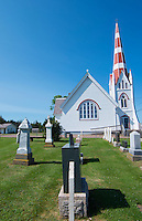 Canada Prince Edward Island, P.E.I. Victoria old church St John's Church or St John the Evangelist Anglican Church