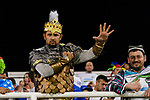 Soccer fans of Uzbekistan in special costumes show supports to their team during the AFC Asian Cup UAE 2019 Group F match between Japan (JPN) and Uzbekistan (UZB) at Khalifa Bin Zayed Stadium on 17 January 2019 in Al Ain, United Arab Emirates. Photo by Marcio Rodrigo Machado / Power Sport Images