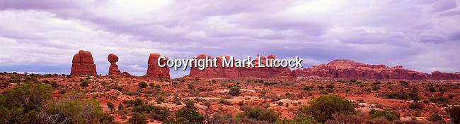 Rock Sculptures, Arches National Park, Utah