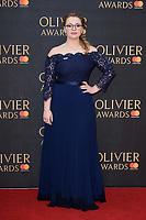 Carrie Hope Fletcher<br /> arriving for the Olivier Awards 2018 at the Royal Albert Hall, London<br /> <br /> ©Ash Knotek  D3392  08/04/2018