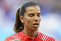 LE HAVRE, FRANCE - JUNE 20: Tobin Heath #17 during a 2019 FIFA Women's World Cup France group F match between the United States and Sweden at Stade Océane on June 20, 2019 in Le Havre, France.