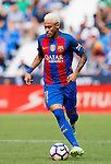 Neymar JR of FC Barcelona in action during their La Liga match between Deportivo Leganes and FC Barcelona at the Butarque Municipal Stadium on 17 September 2016 in Madrid, Spain. Photo by Diego Gonzalez Souto / Power Sport Images