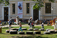 Spielplatz in Helsinki, Finnland