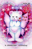 Marie, REALISTIC ANIMALS, REALISTISCHE TIERE, ANIMALES REALISTICOS, paintings+++++SweetPrayers,USJO86,#A# ,Joan Marie ,bear angel heart