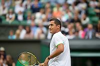 28-06-13, England, London,  AELTC, Wimbledon, Tennis, Wimbledon 2013, Day five, Niolas Almagro (ESP)<br /> <br /> <br /> <br /> Photo: Henk Koster