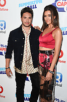 Jonas Blue and Dakota<br /> in the press room for the Capital Summertime Ball 2018 at Wembley Arena, London<br /> <br /> ©Ash Knotek  D3407  09/06/2018