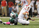"""Tulane defeats SMU, 27-26, at the Mercedes-Benz Superdome to earn their first victory of the season and for Head Coach Curtis """"CJ"""" Johnson."""