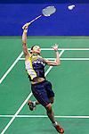 Tai Yzu Ying of Chinese Taipei competes against Carolina Marin of Spain during their Women's Singles Semi-Final of YONEX-SUNRISE Hong Kong Open Badminton Championships 2016 at the Hong Kong Coliseum on 26 November 2016 in Hong Kong, China. Photo by Marcio Rodrigo Machado / Power Sport Images