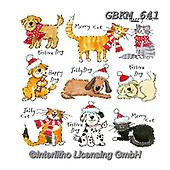 Kate, CHRISTMAS ANIMALS, WEIHNACHTEN TIERE, NAVIDAD ANIMALES, paintings+++++,GBKM641,#xa# ,sticker,stickers