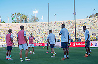 Actio photo during the match Brasil vs Ecuador, at Rose Bowl Stadium Copa America Centenario 2016. ---Foto  de accion durante el partido Brasil vs Ecuador, En el Estadio Rose Bowl, Partido Correspondiante al Grupo -B-  de la Copa America Centenario USA 2016, en la foto: Ecuador<br /> --- 04/06/2016/MEXSPORT/ David Leah.