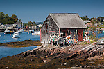 A quaint lobster shack on Orrs Island, Harpswell, ME, USA