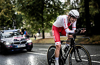 Anna Plichta (POL/Trek-Segafredo)<br /> Elite Women Individual Time Trial<br /> <br /> 2019 Road World Championships Yorkshire (GBR)<br /> <br /> ©kramon