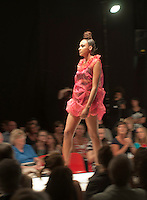 Fashion Show at Further Education College.  Clothes designed by year 2 BTEC ND students, final major project.