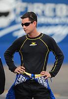 Jan 23, 2009; Chandler, AZ, USA; NHRA XXXX during testing at the National Time Trials at Firebird International Raceway. Mandatory Credit: Mark J. Rebilas-