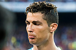 Cristiano Ronaldo of Real Madrid looks on prior to the La Liga 2017-18 match between FC Barcelona and Real Madrid at Camp Nou on May 06 2018 in Barcelona, Spain. Photo by Vicens Gimenez / Power Sport Images