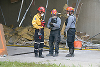 Toronto (ON) CANADA<br /> <br /> HUSAR (Heavy Urban Search and Rescue) simulation of a terrorist attack in Toronto.<br /> <br /> photo by : Richard Yagutilov - Images Distribution