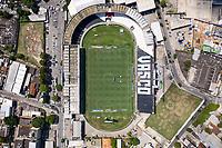 Rio de Janeiro (RJ), 14/02/2021 - VASCO-INTERNACIONAL - Imagens aérea do Estádio de São Januário. Partida entre Vasco e Internacional, válida pela 36ª rodada do Campeonato Brasileiro 2020, realizada no Estádio de São Januário, neste domingo (14).