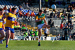 David Clifford, Kerry, in action against Sean Collins, Clare, during the Munster Football Championship game between Kerry and Clare at Fitzgerald Stadium, Killarney on Saturday.