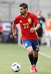 Spain's Nolito during friendly match. June 1,2016.(ALTERPHOTOS/Acero)